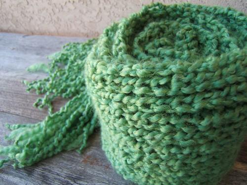 Green Scarf 3