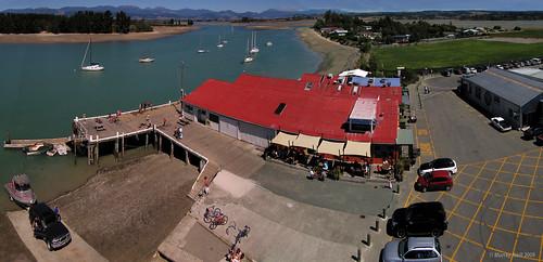 Mapua Wharf onSunday Afternoon