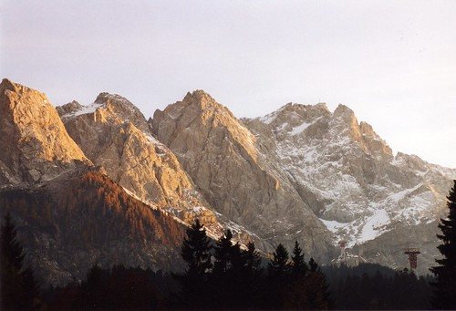 German Alps Mountain Range