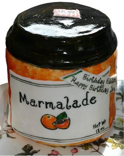 Marmalade Jar Cake