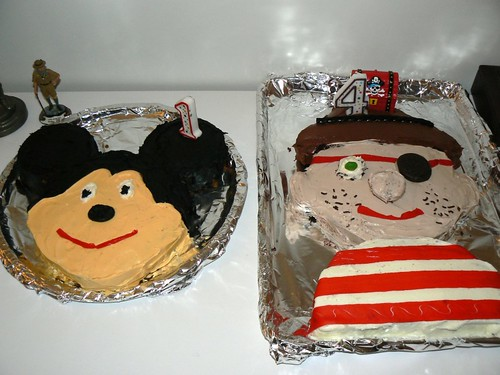 The cakes made by Aunt J