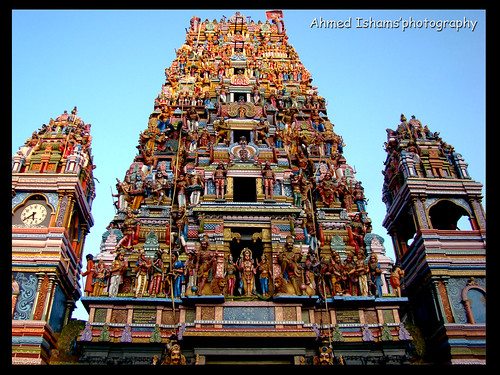 Temple of Hindu gods (Colombo 2 , slave island) | Flickr - Photo ...