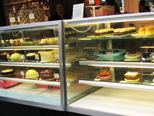 Miette display at the Ferry Building