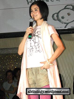 charlene choi talking