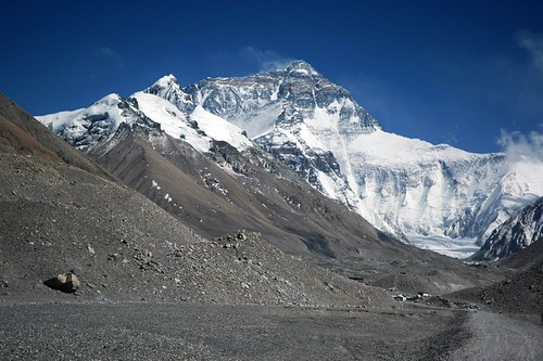 Mount Everest from Rongbuk