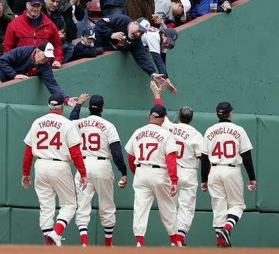 Image result for red sox old-timers