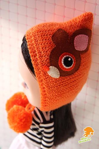 MforM Orange Deery Lou Hoodie