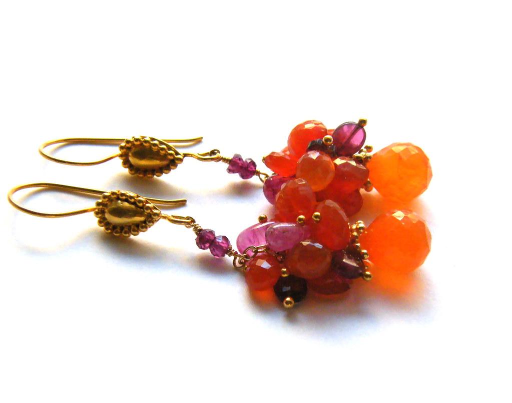 Jackie Earrings-Sold