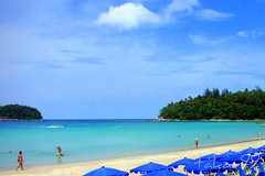 Kata Beach in Phuket, Thailand