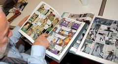 Vittorio Giardino - Lezioni di fumetto - photo Goria - click per lo slideshow