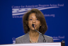 Melody Barnes (Center for American Progress) Tags: washingtondc danweiss senatorjohnkerry centeramericanprogress politicalconference melodybarnes kitbatten