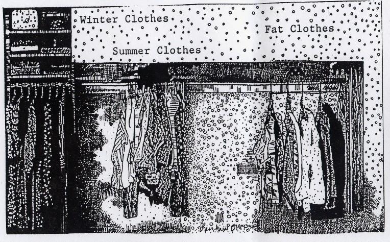 closets....