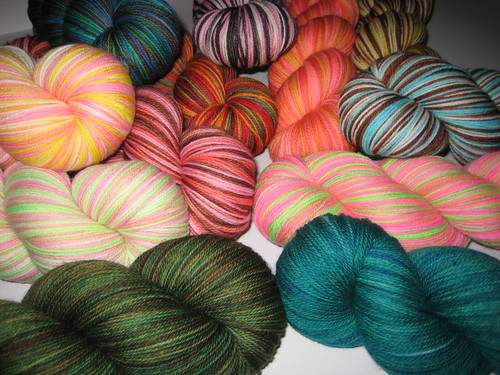 new sock yarns