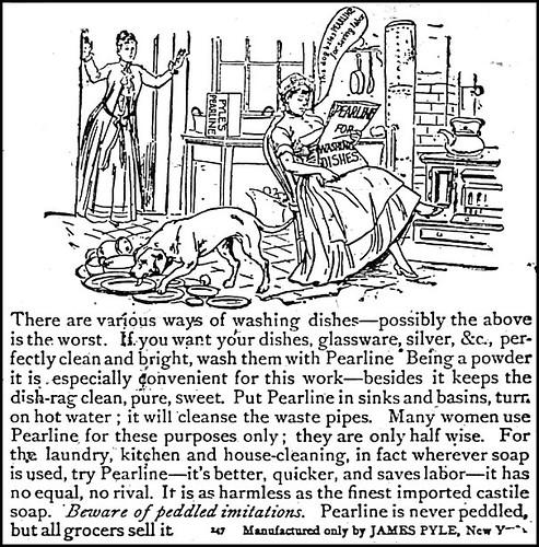 Ladies Journal 1890 Pearline