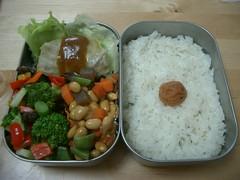 Lots of veggies bento (skamegu) Tags: japan rice bento japanesefood lunchbox     broccolisalad