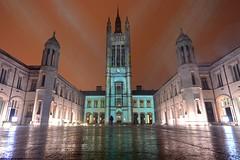 Spectra Festival of Light, Marischal College, Aberdeen (iancowe) Tags: spectra aberdeen festival light marischal college university council acc snow shower winter february granite scotland scottish ray projection