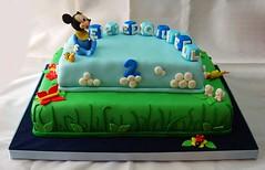 Garden (Mariana Pugliese) Tags: 2 naturaleza flores verde azul garden jardin disney mickey pasto cielo nubes cumple abeja mariposas cumpleaños celeste nomeolvides abejita cubos vaquitadesanantonio 241543903 marianapugliese ezquequiel