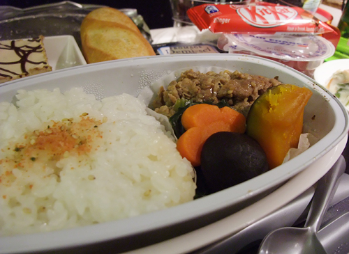 Sdi's dinette_inflight meal