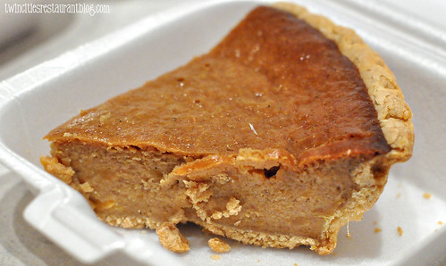 Sweet Potato Pie at Ted Cook's 19th Hole BBQ ~ Minneapolis, MN
