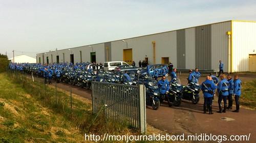 Motards Gendarmerie - G8 Deauville 2011