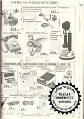 Tandy 1981(25) (gusset) Tags: toys retro electronics 1981 catalogue hifi tandy microcomputer