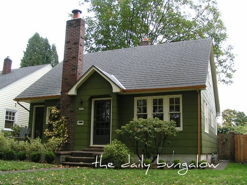 Exterior Color Schemes::Green::Paint Colors For The Historic Home · Daily  Bungalow   SE Portland, Laddu0027s Addition Neighborhood Ideas