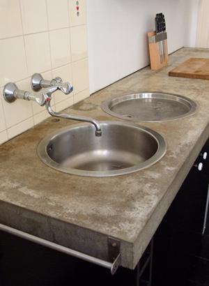 küchenarbeitsplatte aus beton - Küche Aus Beton Selbst Bauen