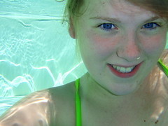 Underwater (jla ) Tags: girl beautiful germany bavaria underwater