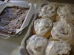 Brownies, Cinnamon Rolls