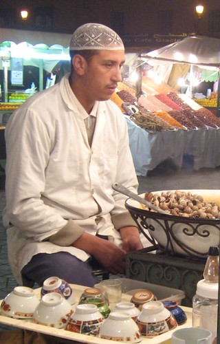 vendedor de caracoles