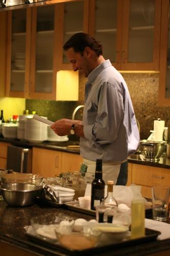 Michael Ruhlman Cooking Demo at Viking: 11/9