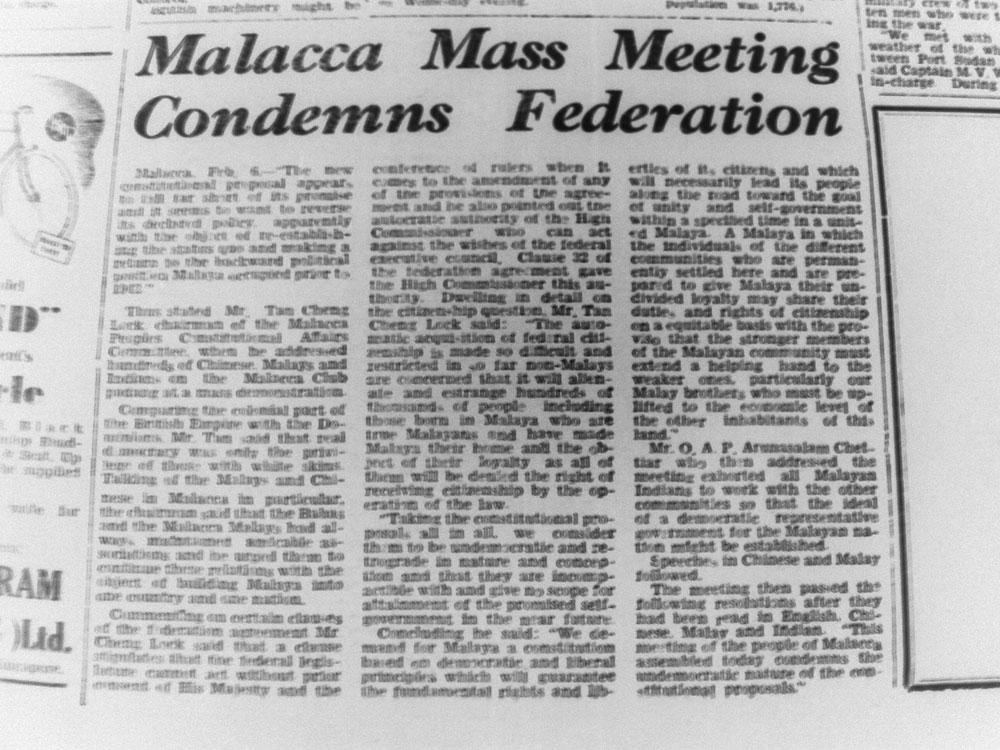 Sumber Akhbar The Malaya Tribune