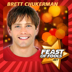 "Actor Brett Chuckerman talks about his new film ""The Curiosity of Chance"" on the Feast of Fools podcast"