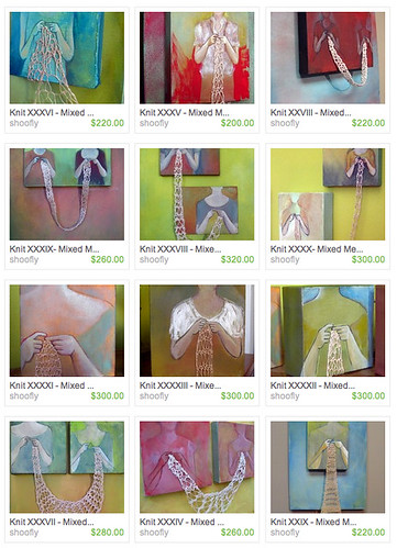 Paintings on Etsy