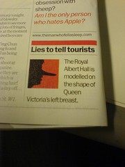 Lies to tell tourists