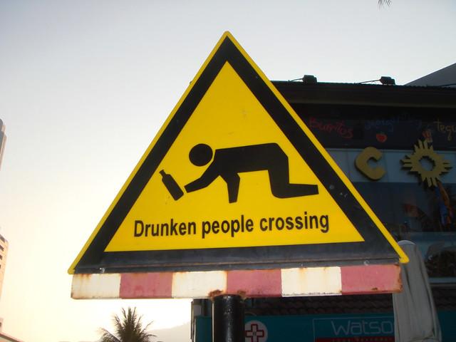 Phuket Nightlife Drunk