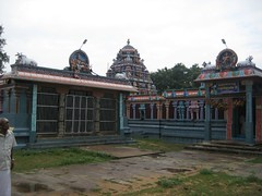 Front Mandapam and Vimanam of Varamoortheeswarar