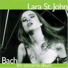 Lara St. John Bach Concerto CD Cover