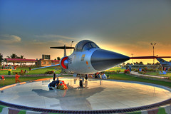 Karachi -- Ready for flight ! (Aliraza Khatri) Tags: park pakistan sunset public museum force place military air jet aeroplane helicopter karachi sindh hdr defence aero jetplane paf khatri canon400d travelandplaces aliraza holidaysvacanzeurlaub