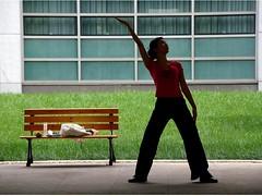balance... (Maggie's World ...) Tags: 2 student bravo university shanghai martialarts harmony balance relaxation tcm taijiquan soe inherself likeachinesecharacter norninbgpractice