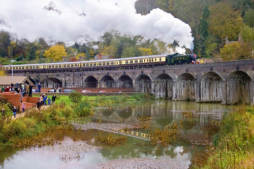 Steaming in Coalbrookdale (geoffspages) Tags: shropshire railway steam uksteam photographyrocks