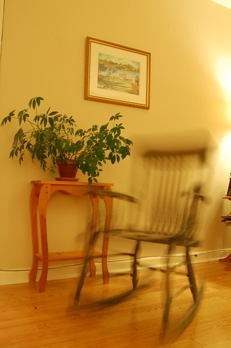 Photo 101: Week 3 - Rocking Chair / slow shutter