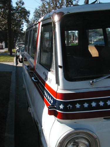 "Dodge a100 ""Star Spangled Vanner"""