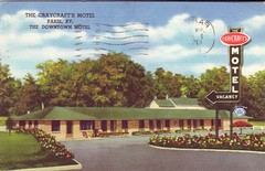 The Craycraft's Motel (Jasperdo) Tags: paris history vintage kentucky postcard motel retro vintagepostcard oldpostcard vintagemotel thecraycraftsmotel