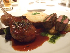DSCF2755 (MrAKP) Tags: sanfrancisco food chop lamb 2008 loin chaya gdc gamedevelopersconference