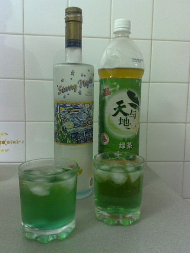 Happy green drinks