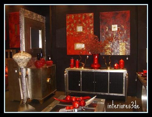 Feng Shui Color Rojo Baño:Rincones con un gusto exquisito, de colores predominantes en los