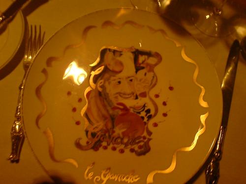 Plate still empty