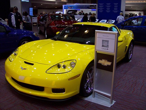A Chevy Corvette C6 Z06. by Steve Brandon. A Chevrolet Corvette C6 Z06 on