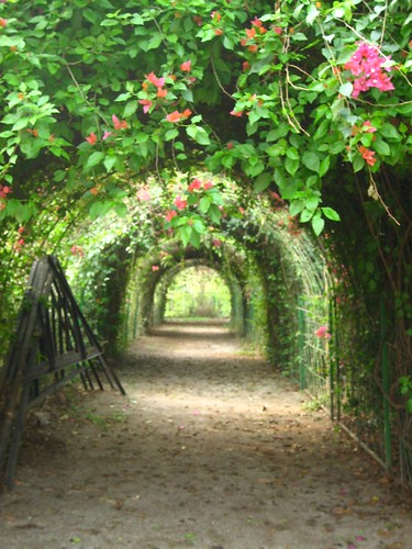 Arch-way at Tetulia Guest estate